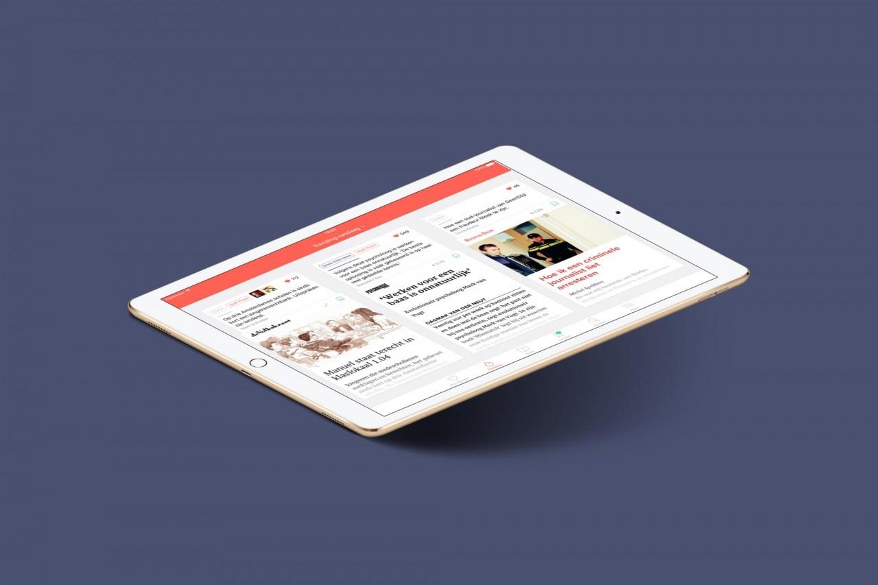 Een abonnement op de Blendle-krant