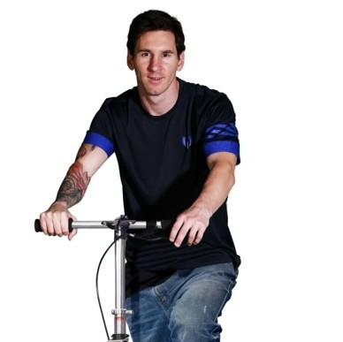 Messi heeft eigen Space Scooter Game